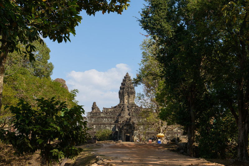 BAKONG. This late 9th century temple was the first mountain-temple built in Angkor. It is a Hindu temple dedicated to Shiva.