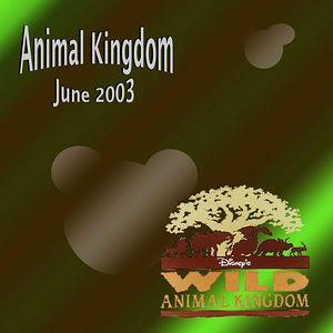 Disney World - Animal Kingdom - June 2003