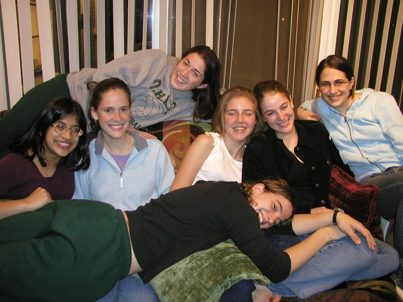 Lizzie's friends on couch.jpg