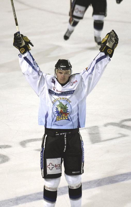 Blaze v Nottingham Panthers - 19/09/04