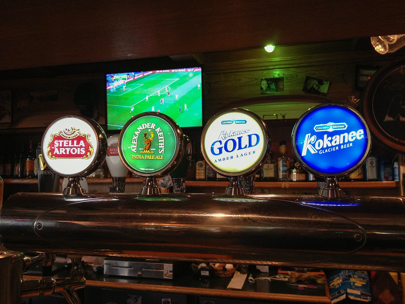 Bier und Fussball