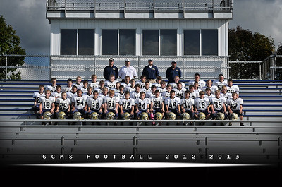 GCMS Football (Team) 2012-13