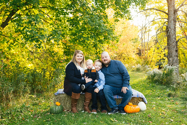 Fall Family Mini Sessions-The Carsons
