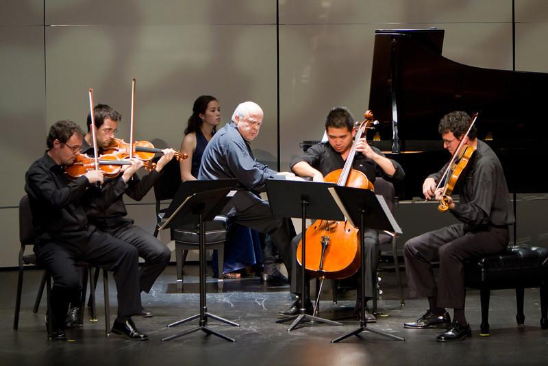 Alexandre Toradze and the Euclid Quartet
