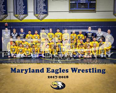 Maryland Eagles Wrestling Team 3-12-18