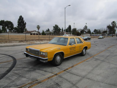 1988 FORD CROWN VICTORIA TAXI