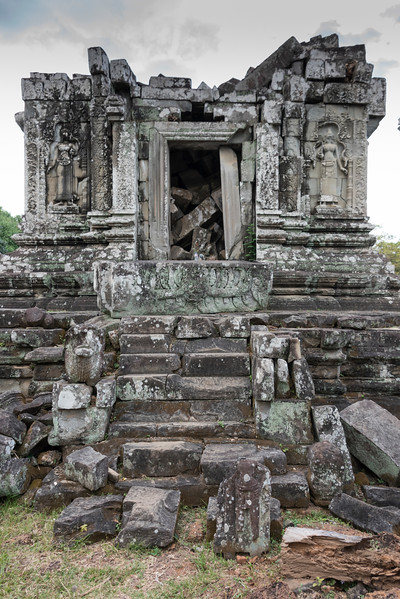 Ruins of Phnom Bok Temple, Siem Reap, Cambodia