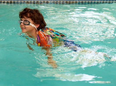 Swimming lessons - April '12
