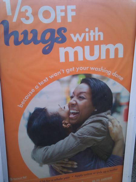 Hugs with Mum