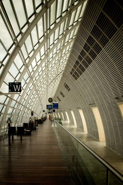 I never tire of the TGV station in Avignon.