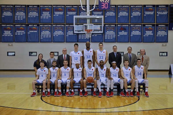 Keiser Men's Basketball 2017-18 Team Pics
