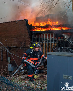 4 Alarm Strip Mall Fire - 671 Yonkers Ave, Yonkers, NY - 1/12/21