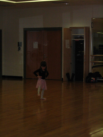 Kailin ballet spring class
