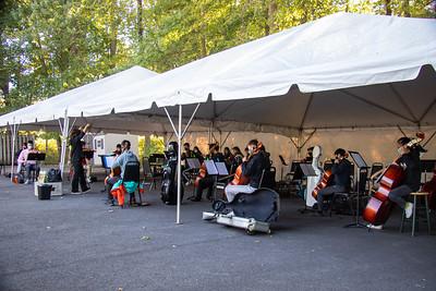 20 Sept Outdoor Rehearsal