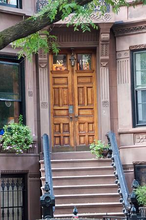 Brownstone Doors - Brooklyn