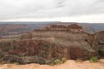 Der schlafende Hund in aller Pracht, Sleeping Dog am Grand Canyon