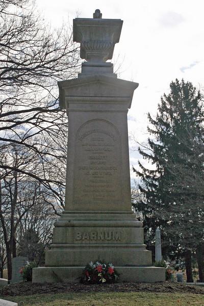 P. T. Barnum's Gravesite, Bridgeport, CT