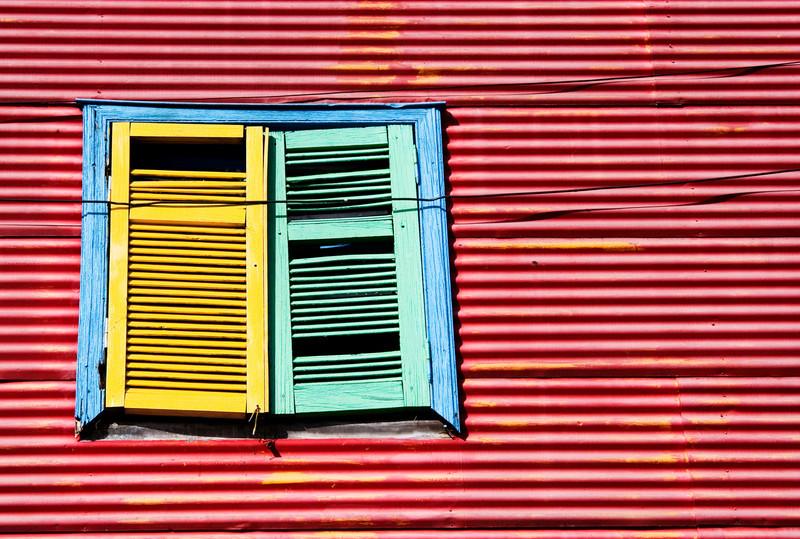 caminito shutters I
