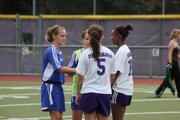 2010-09-27 IHS Girls C Soccer vs Bellevue