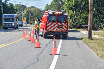 Vehicle Hits Pole in Brookhaven [9.21.19]