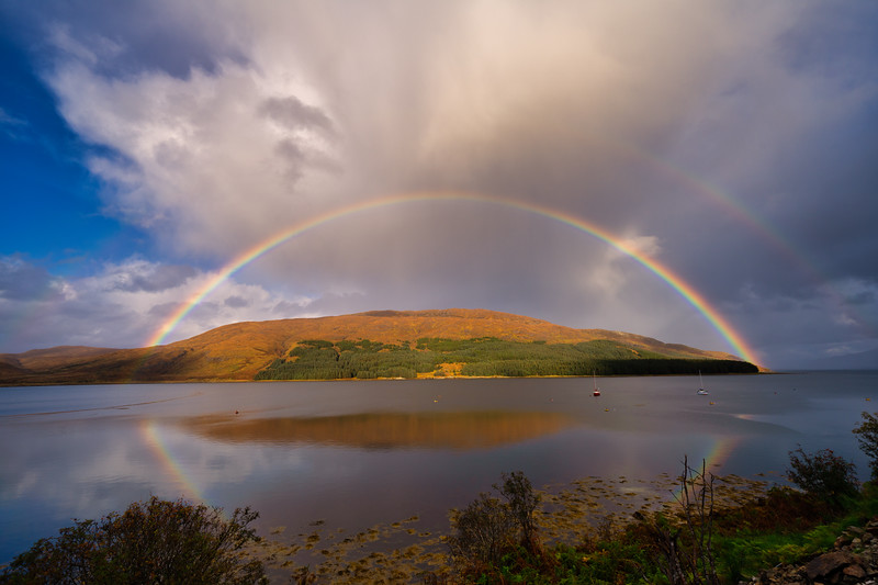 Double Rainbow, Isle of Sky