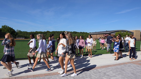 First Day of School: Ribbon Cutting and Tours