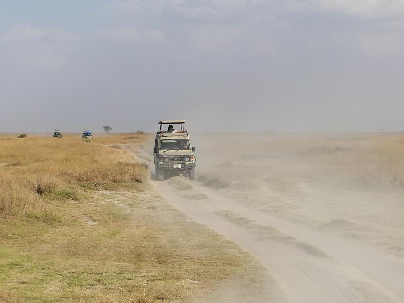 Dry season in the Serengeti