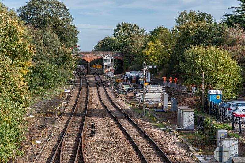 Reedham Junction - Resignalling in the works
