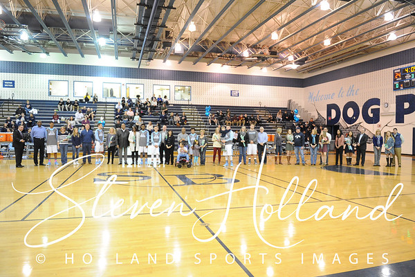 Boys Basketball - Senior Night 2.17.2016 (by Steven Holland)