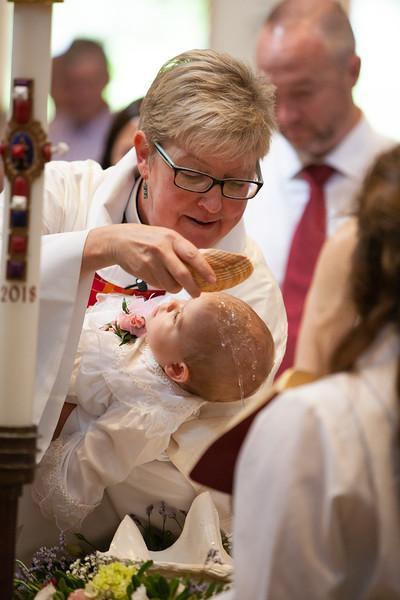 Evelyn Hope Laney Baptism