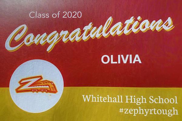 Olivia's 2020 Graduation