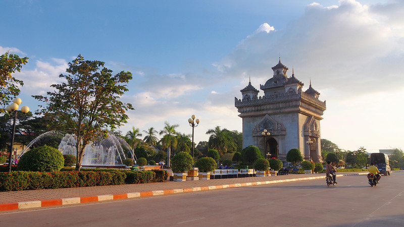 Patuxai, or Victory Gate