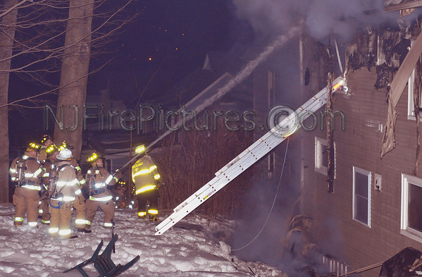 Dover, NJ General Alarm 157 Thompson Ave 2/13/11