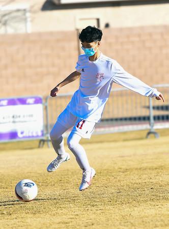 1-21-21 - Northwest Christian School v River Valley - Boys Soccer