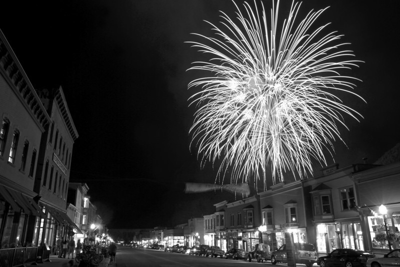 4th of July on Telluride's Main St