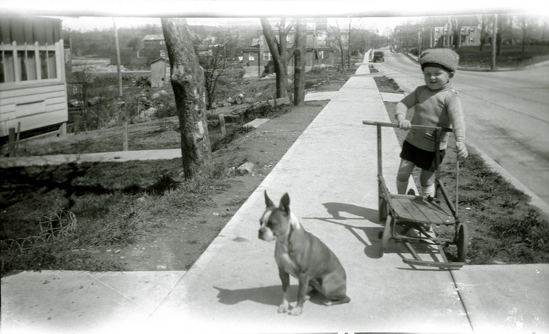 Thor Persson?  White Plains NY, 1920s.