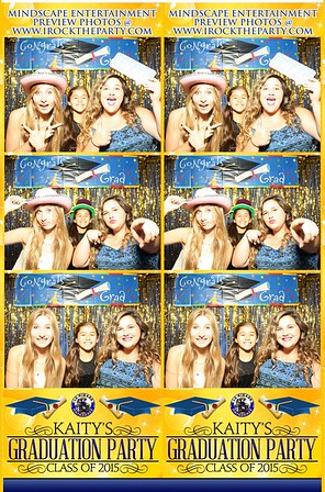 Kaity's Graduation Party - Photo Booth Pictures