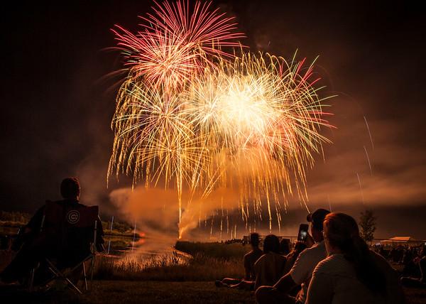 Pingree Grove Fireworks - July 8, 2017