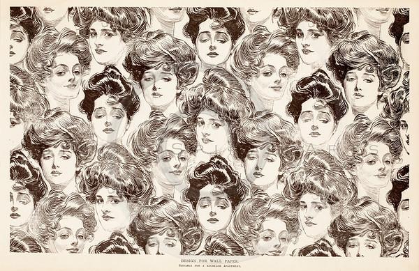 Vintage Gibson Girls