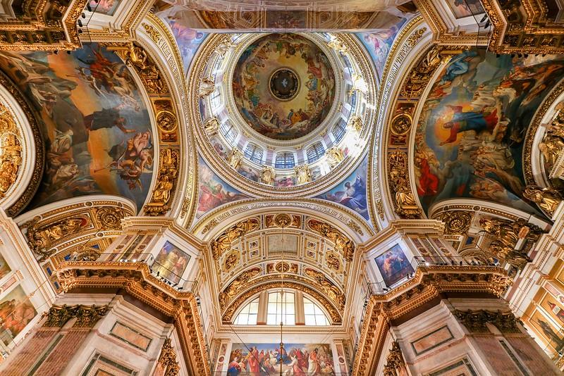 000Baltic T6i 2018 536B, SMALL, St. Isaac's Church ceiling-536.jpg