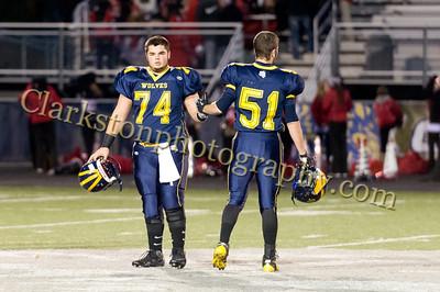 2012 Clarkston Varsity Football