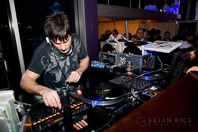 DJ P at Mosaic, January 29th, 2009