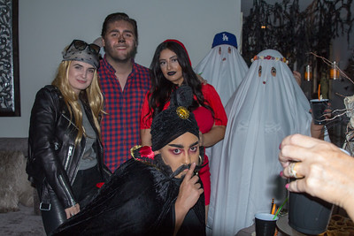 Heidi's 2018 Halloween party