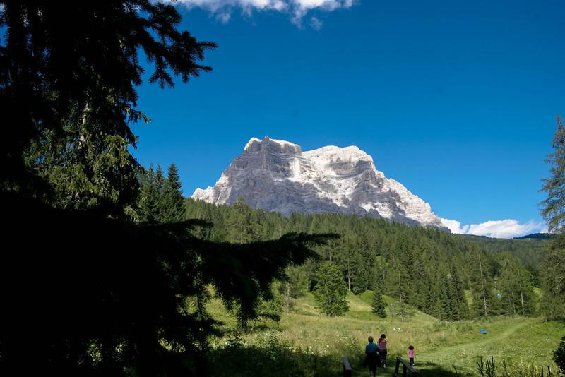 Civetta mountain, Dolomites, Belluno, Italy