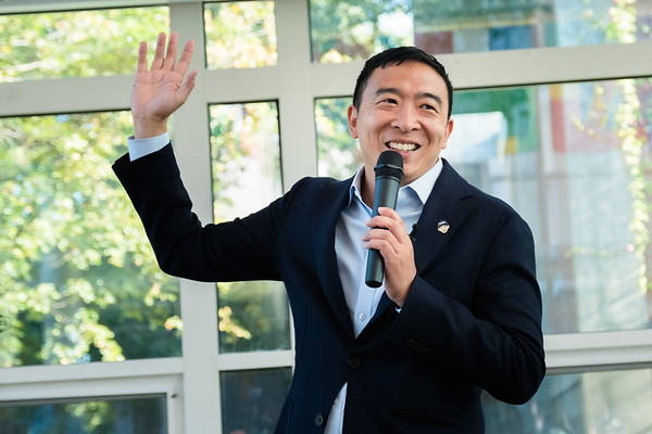Andrew Yang at Keene State College 08-26-19