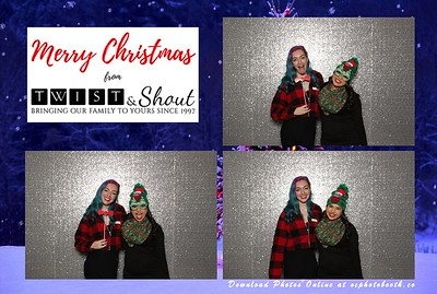 Twist & Shout Christmas Party