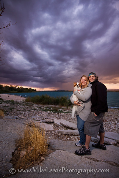 My brother John and his girlfriend Niki at Lake Lowell near Nampa Idaho.