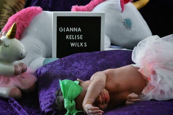 Baby Gianna Kelise