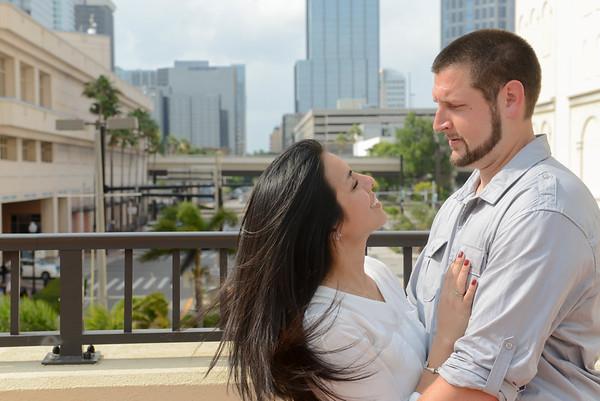 Claudia + Kevin- Tampa Engagement