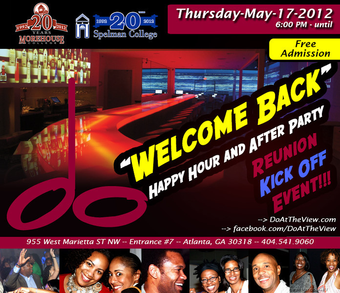 """Welcome Back"" Happy Hour and After Party @ 'do' [""dough""] Restaurant ::: ATL, GA, USA [May.17.2012]"